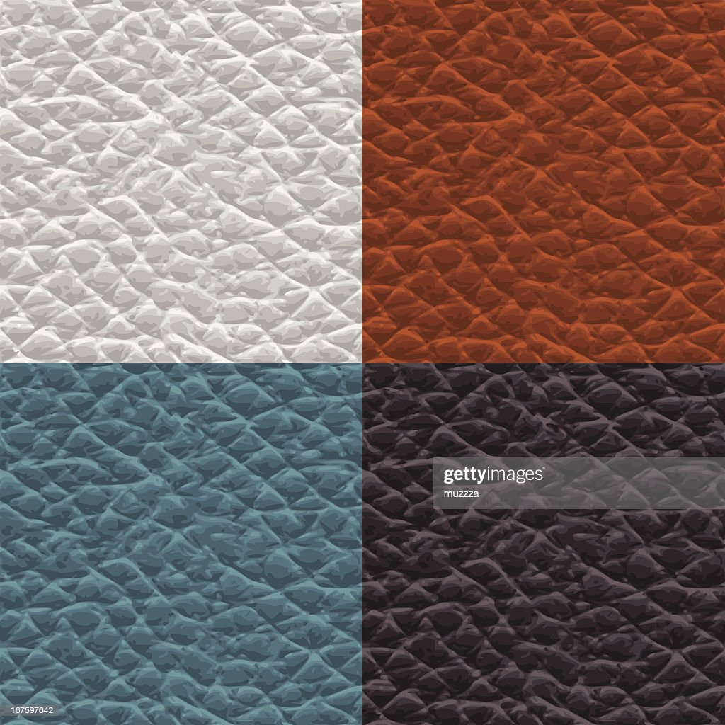 Seamless leather swatches