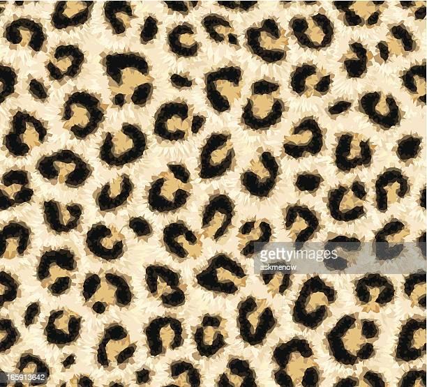 ilustraciones, imágenes clip art, dibujos animados e iconos de stock de piel de leopardo patrón sin costuras - jaguar