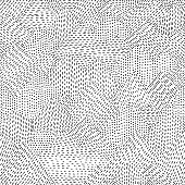 Seamless line hand drawn pattern