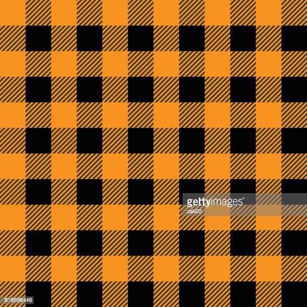 Seamless Lumberjack Pattern