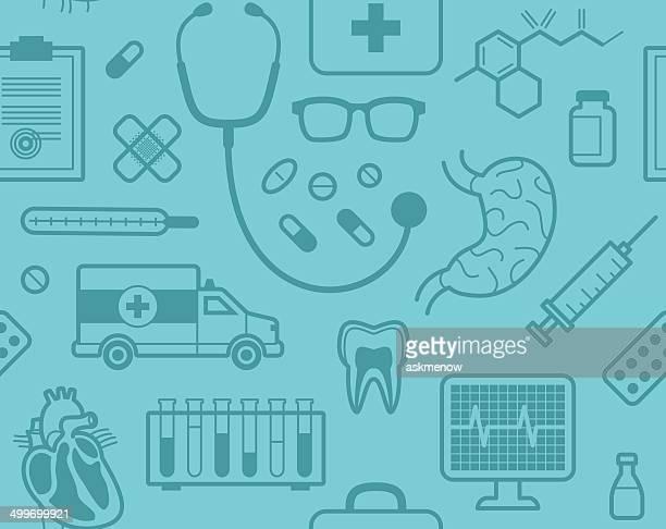 Seamless medical pattern