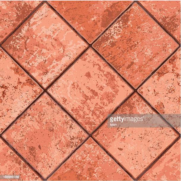 seamless mexican tiled floor - pottery stock illustrations, clip art, cartoons, & icons