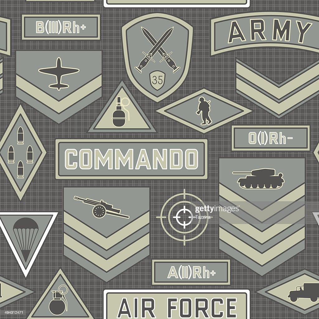 seamless military pattern 10