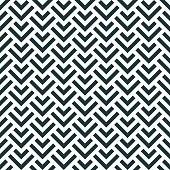 seamless monochrome pattern of overlapping corners.