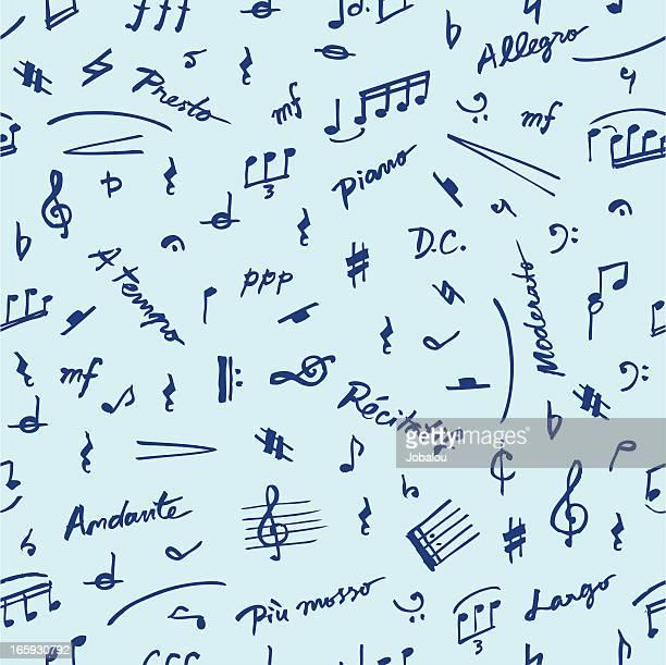 ilustraciones, imágenes clip art, dibujos animados e iconos de stock de elementos de música perfectos - clave baja