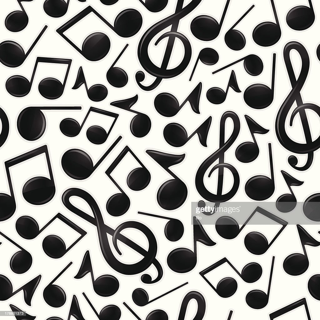 Seamless Musical Notes