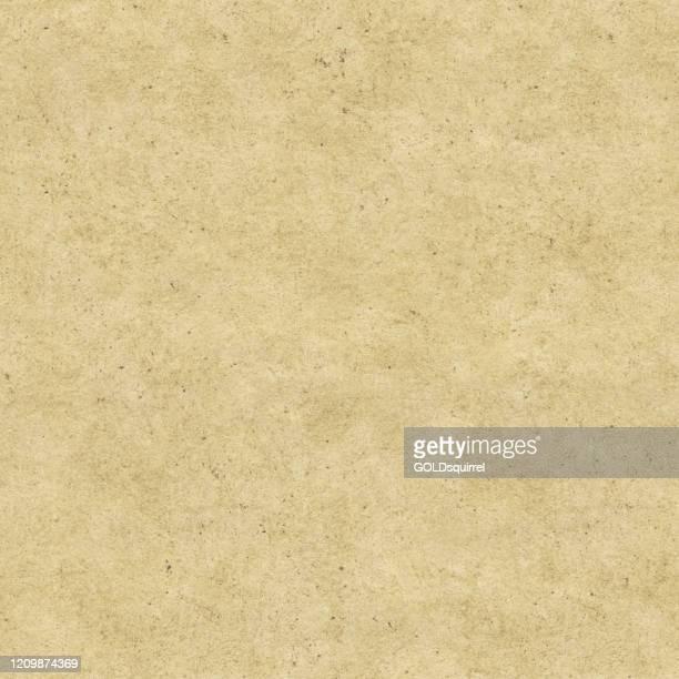 illustrazioni stock, clip art, cartoni animati e icone di tendenza di motivo di carta fatto a mano naturale senza cuciture in vettoriale - illustrazione con superficie sabbiosa in colori beige chiaro con punti macchie piccole linee piene di inquinamenti e imperfezioni irregolari disordinate - sfondo di trama stock - sabbia