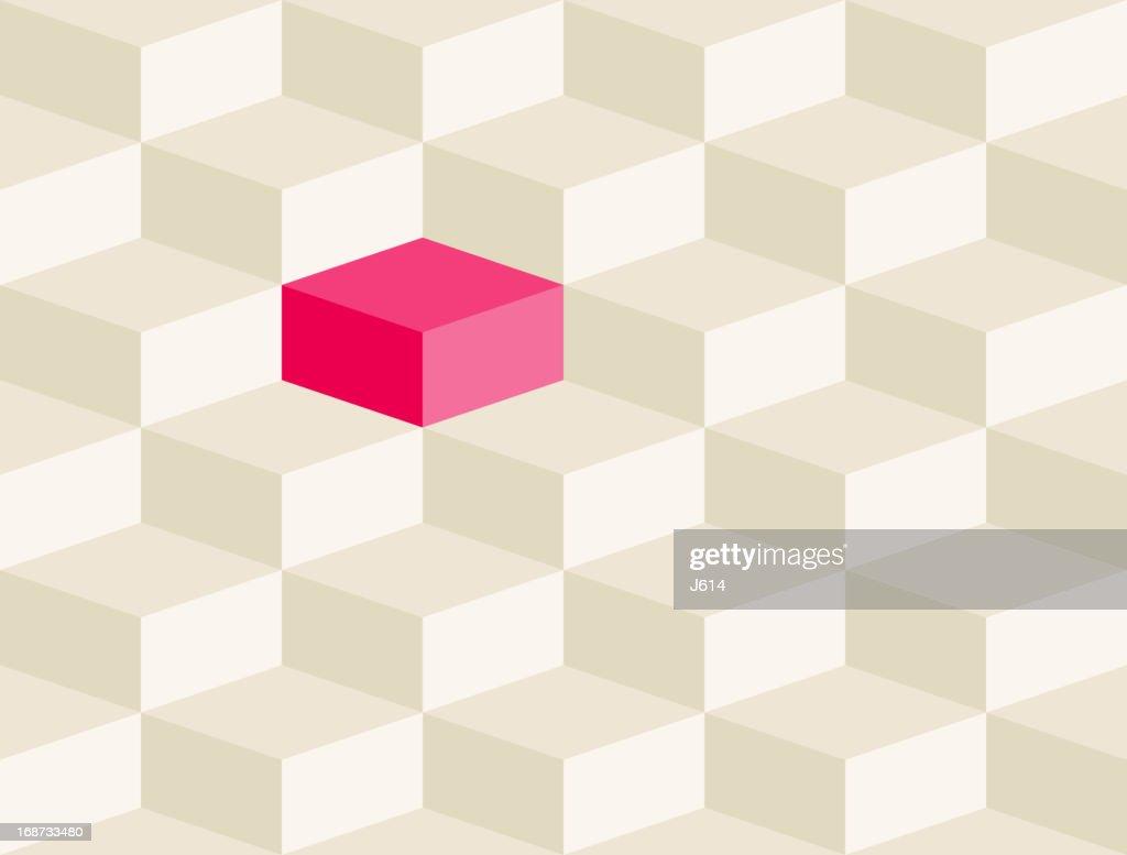 Seamless optical illusion : Stock Illustration