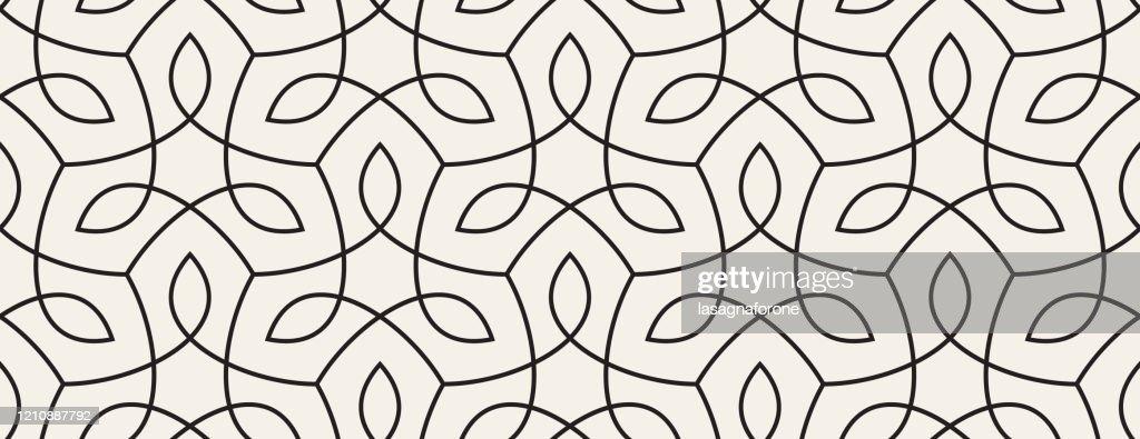 Nahtlose organische Natur Pflanze Vektor Muster : Stock-Illustration