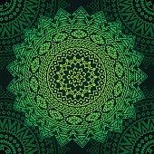 Seamless oriental pattern, indian ethnic background