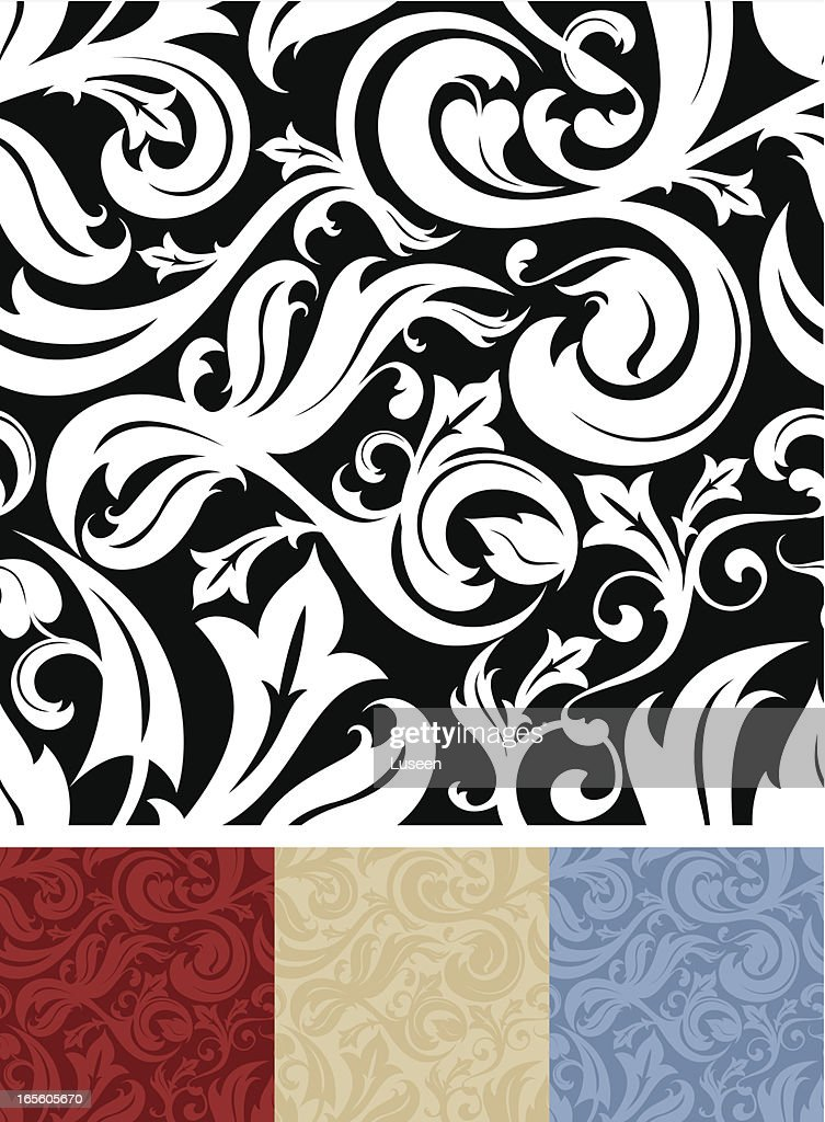 Seamless Ornate Pattern