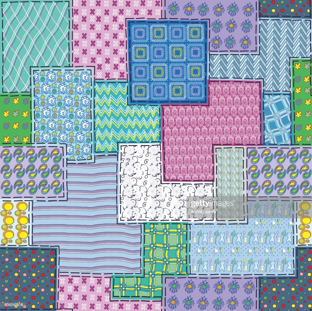 Seamless patchwork color1