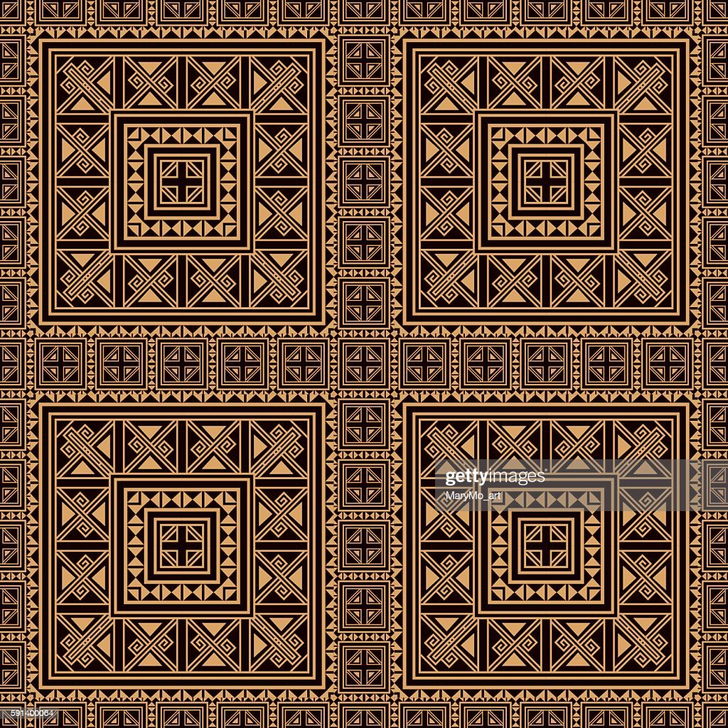 Seamless pattern background in beige and black colors.