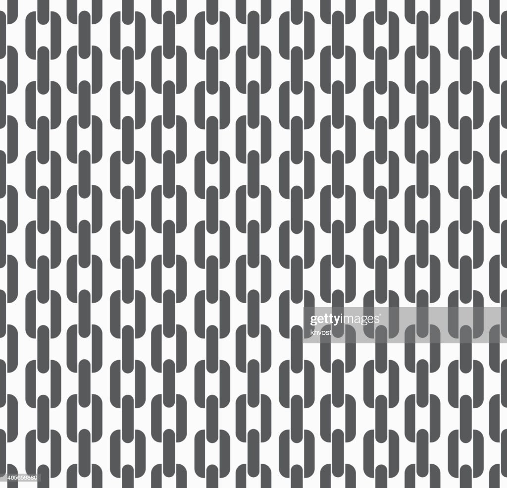 Seamless pattern background with chains. Vector