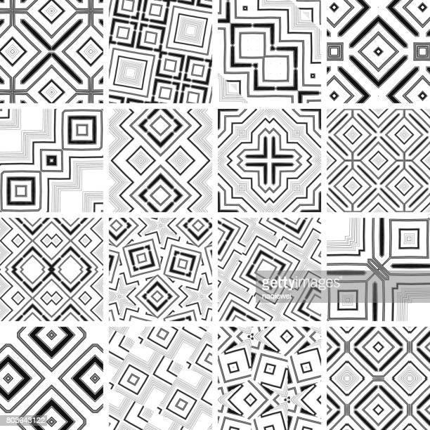 シームレス パターン コレクション