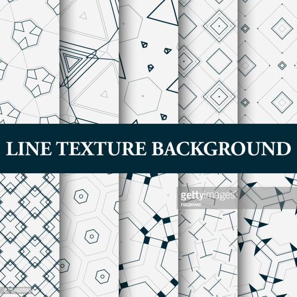 seamless pattern collection - drawing artistic product stock illustrations