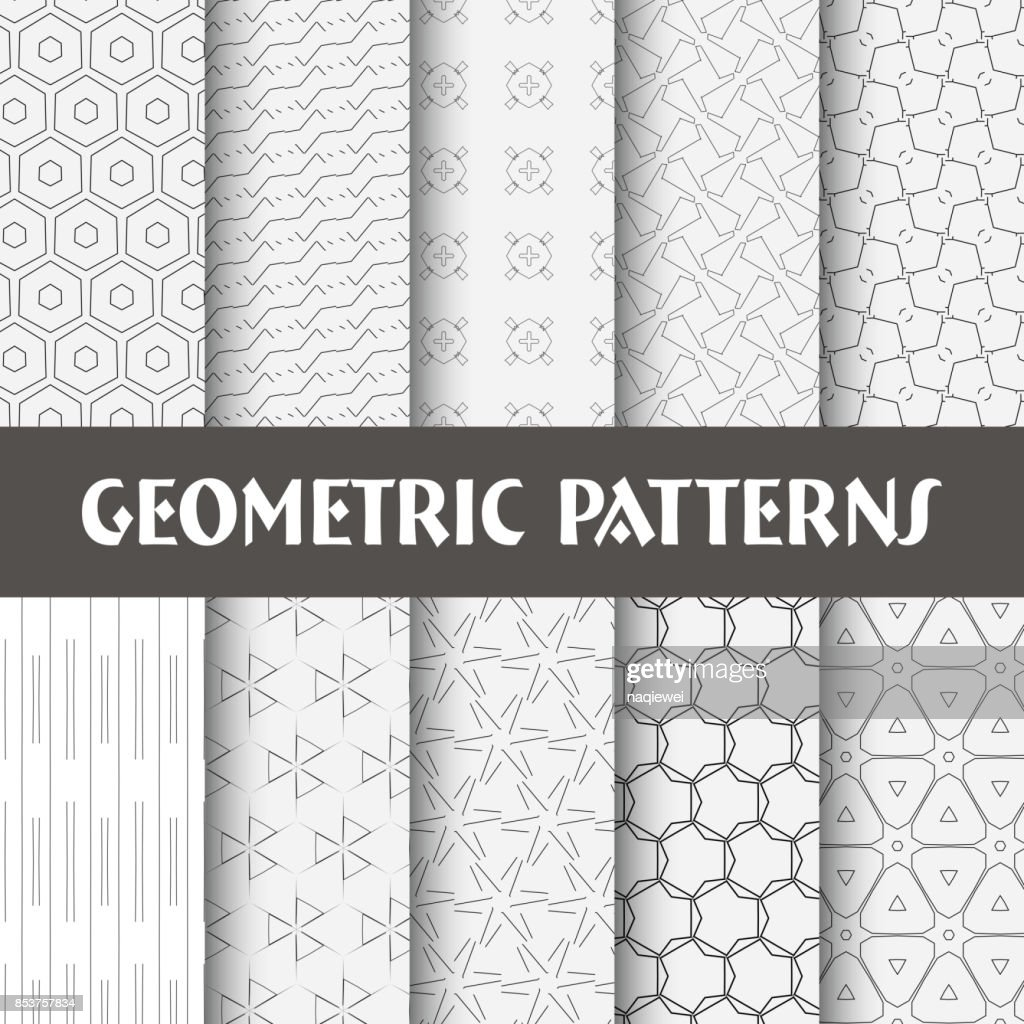 Seamless Pattern Collection : Vector Art