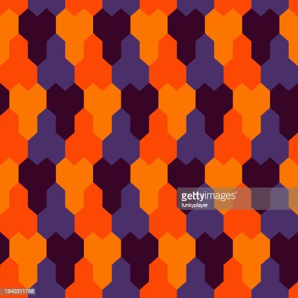 seamless pattern ethnic ornament geometric background