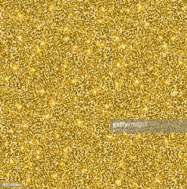 seamless pattern. glitter - gold colored stock illustrations, clip art, cartoons, & icons