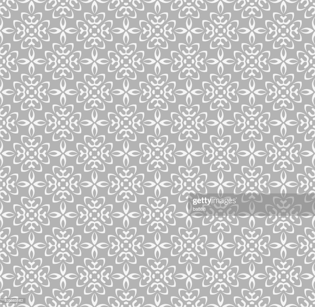seamless pattern gray background