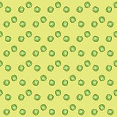 Seamless Pattern. Green Pea