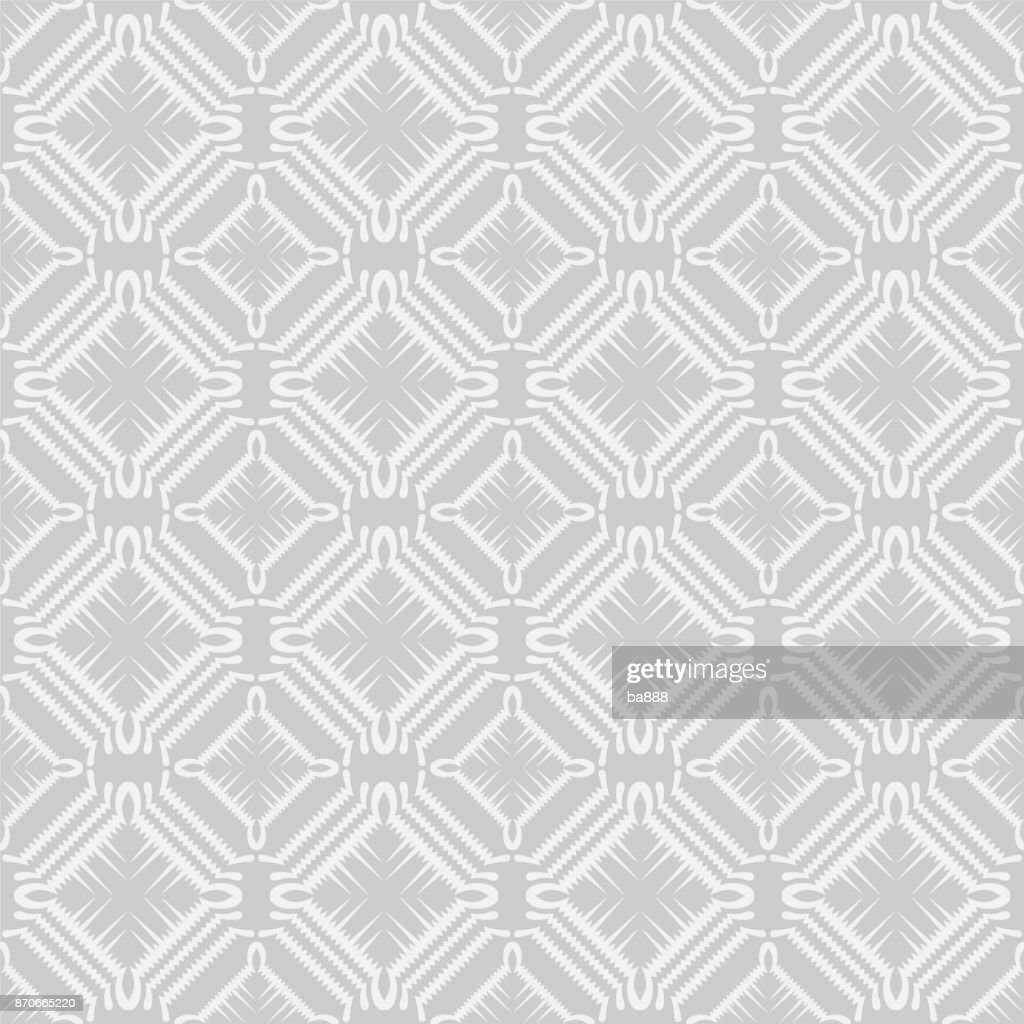 Seamless pattern, grey vector background