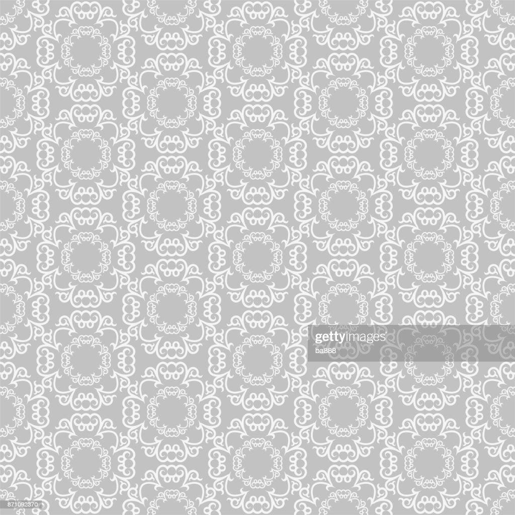 seamless pattern grey wallpaper background