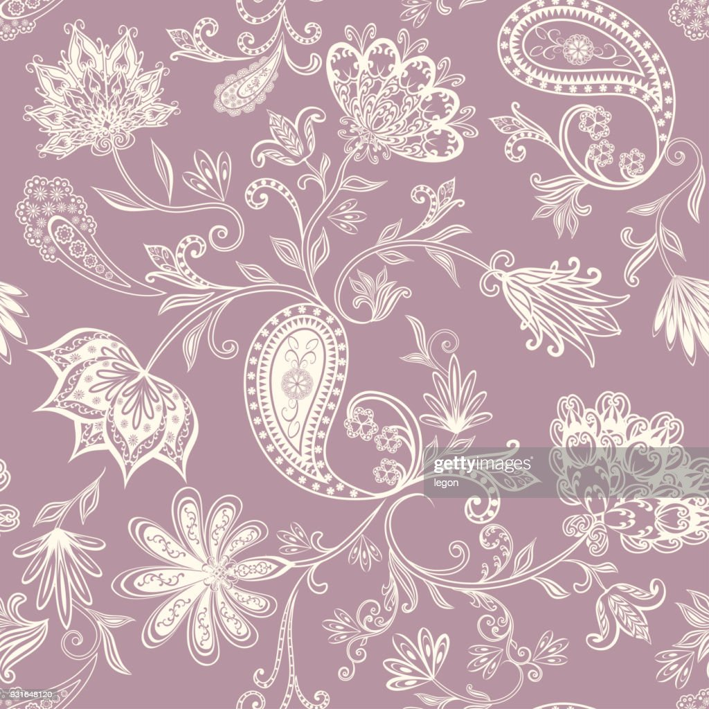 Seamless pattern in ethnic traditional style.