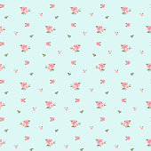 Seamless pattern in small flower. Cute floral background. Vector illustration.