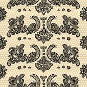 seamless pattern lace birds