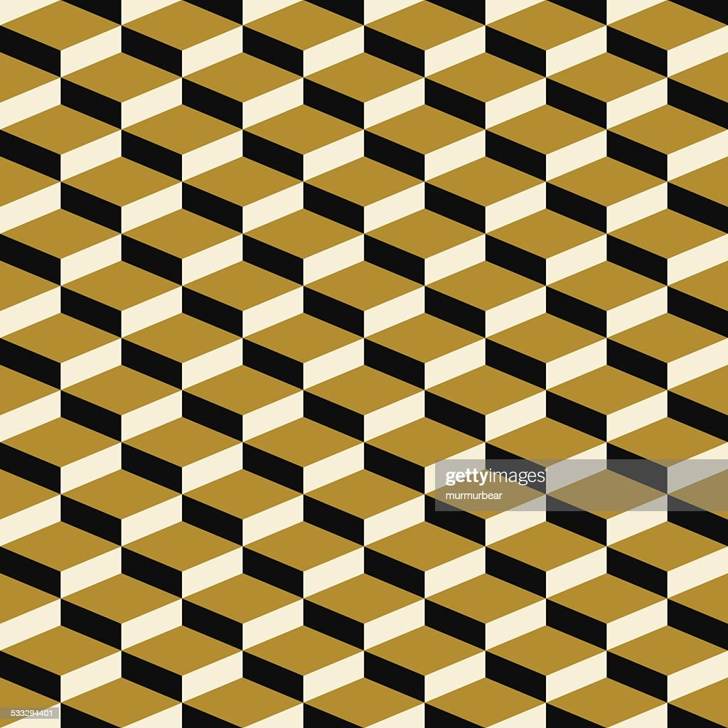 seamless pattern of art deco blocks
