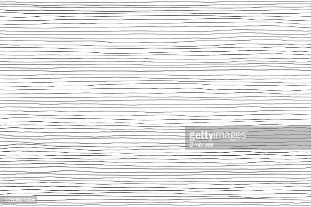 seamless pattern of black lines on white, hand drawn lines abstract background - graphic print stock illustrations