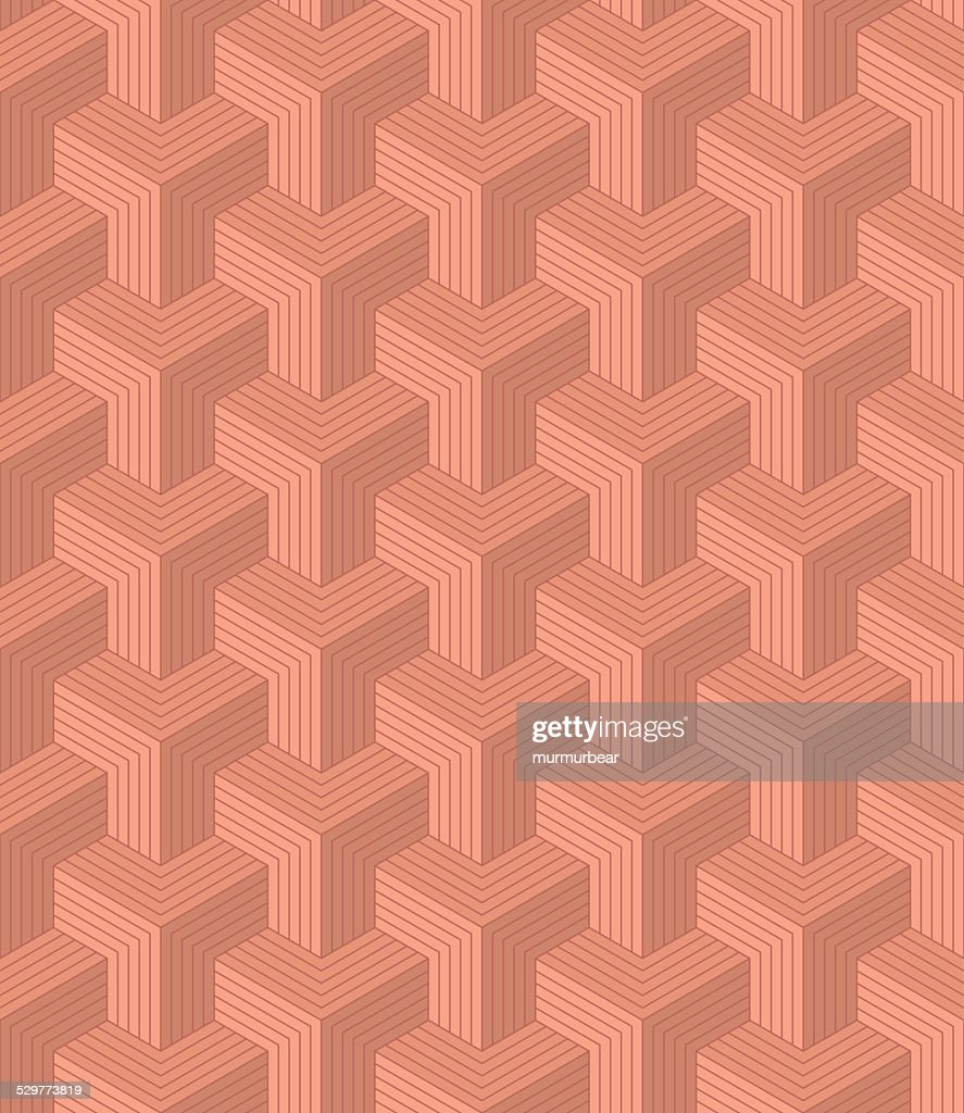 seamless pattern of copper colored blocks