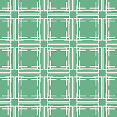 Seamless pattern of multiple lines forming lattice with square windows