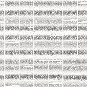 seamless pattern on the theme of Newspapers
