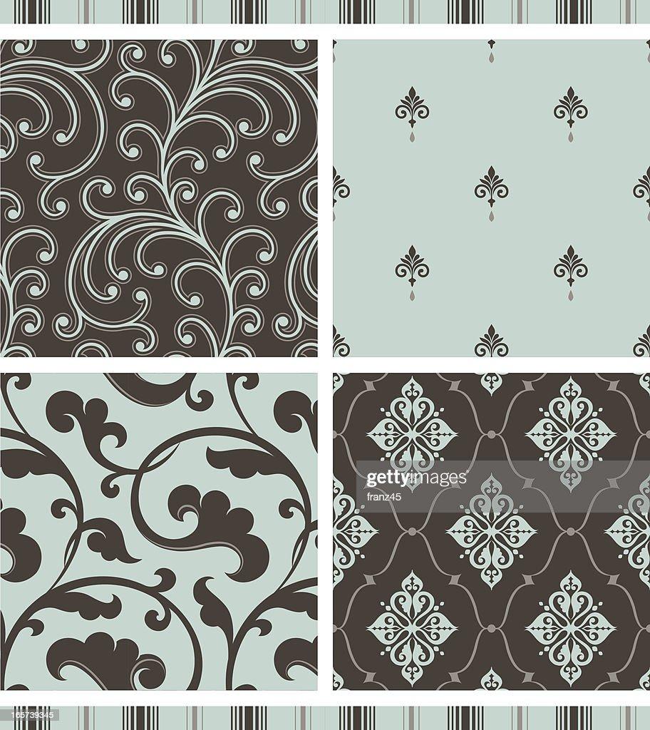 Seamless pattern - retro