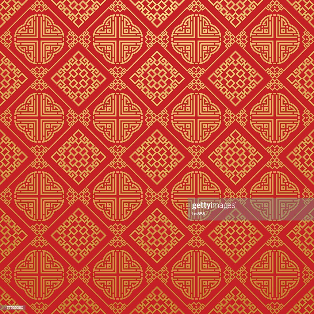Seamless Pattern Stylish Texture Asia