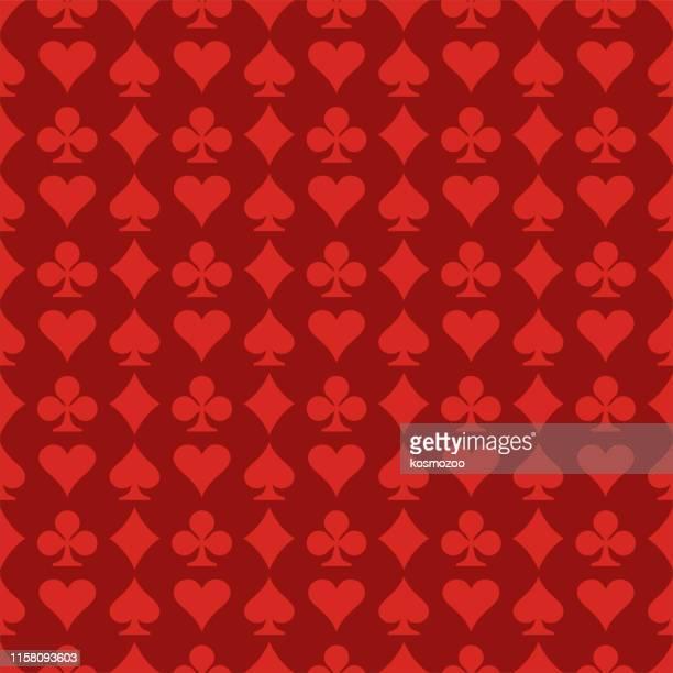 seamless pattern - casino stock illustrations
