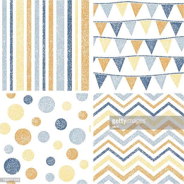seamless pattern - run down stock illustrations, clip art, cartoons, & icons