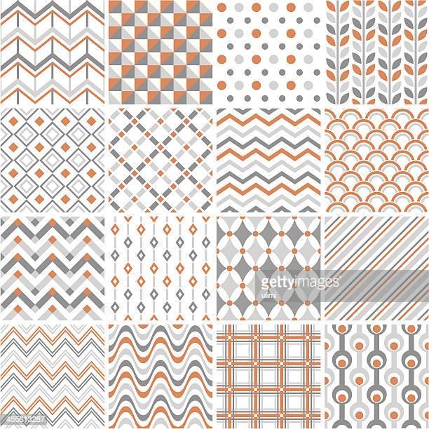シームレスなパターン - 山形模様点のイラスト素材/クリップアート素材/マンガ素材/アイコン素材