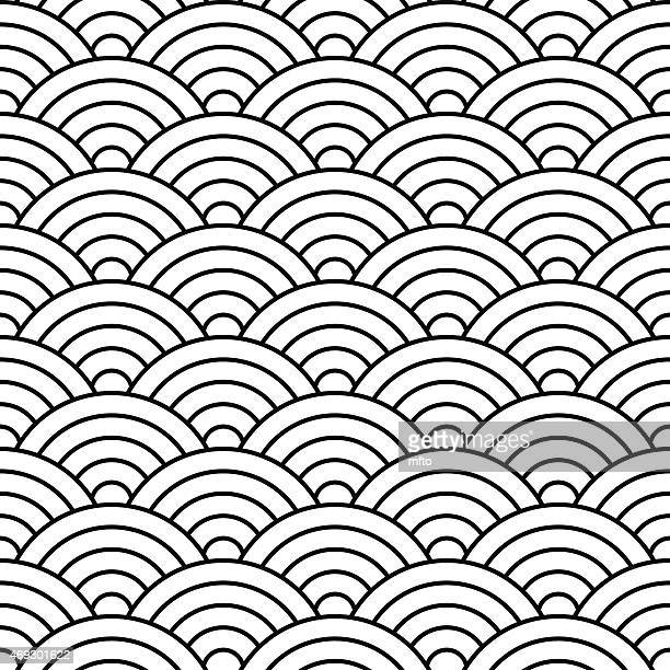 seamless pattern - animal scale stock illustrations, clip art, cartoons, & icons