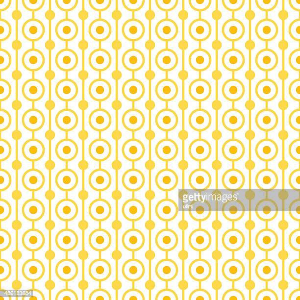 seamless pattern - orange color stock illustrations