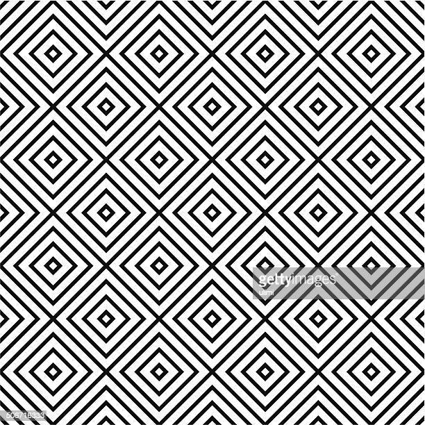 seamless pattern - square composition stock illustrations, clip art, cartoons, & icons