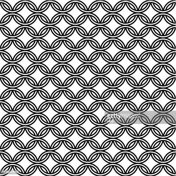 シームレスなパターン - ケルト風点のイラスト素材/クリップアート素材/マンガ素材/アイコン素材