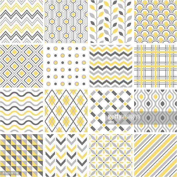 seamless pattern - rhombus stock illustrations