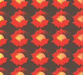 Seamless pattern vector illustration in creative design