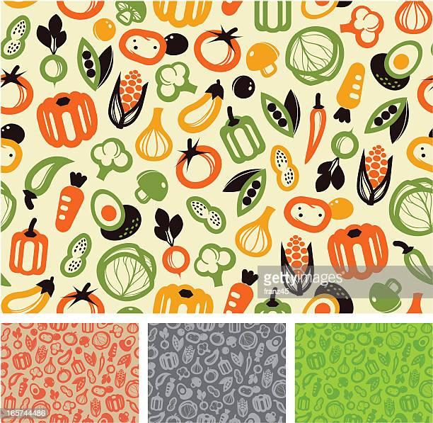 Seamless pattern - vegetable