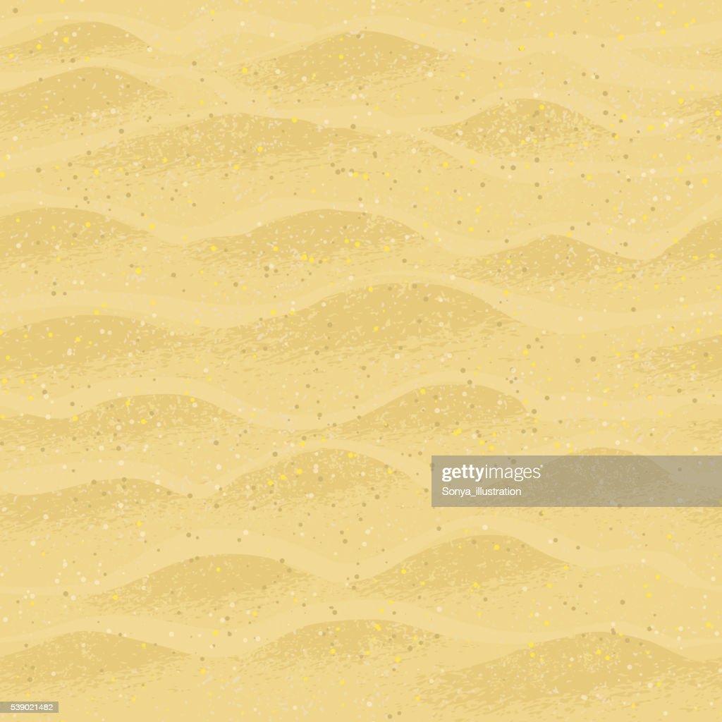 Seamless pattern with beach sand.
