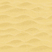 Seamless pattern with beach sand.