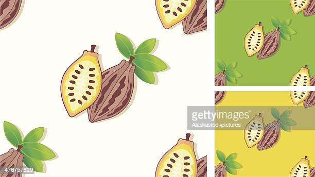 ilustraciones, imágenes clip art, dibujos animados e iconos de stock de patrón sin costuras con cacao. - chocolate caliente